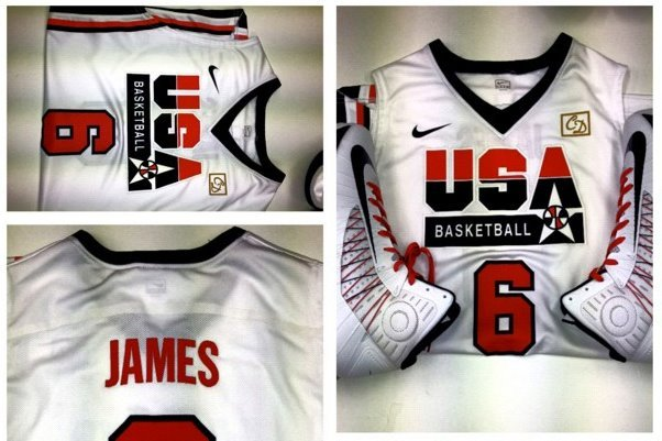 Team USA Rocking Throwbacks Today