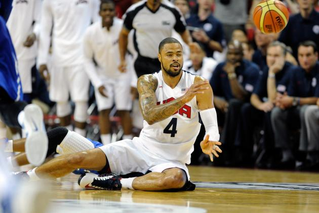 USA Basketball 2012: Tyson Chandler, Frontcourt Must Step Up vs. Argentina