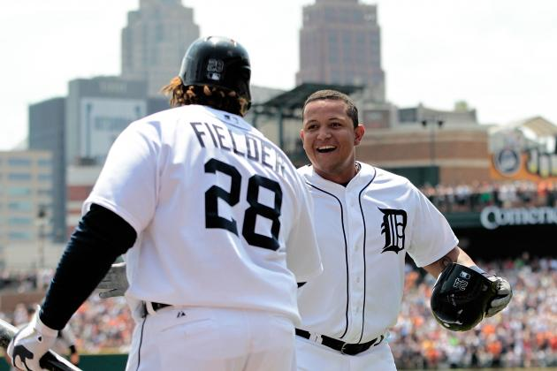 Miguel Cabrera Launches Two Missiles, Makes History in Tigers' Sweep