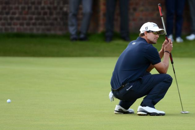 British Open Results 2012: Was Tiger Woods' or Adam Scott's Collapse Worse?