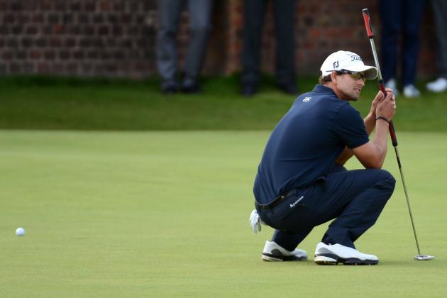 British Open Results 2012: Was Tiger Woods' or Adam Scott's Collapse Worse?