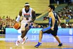USA Hoops Survives Challenge from Argentina