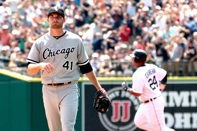 Philip Humber Should Be Out, Hector Santiago In as Chicago's No. 5 Starter