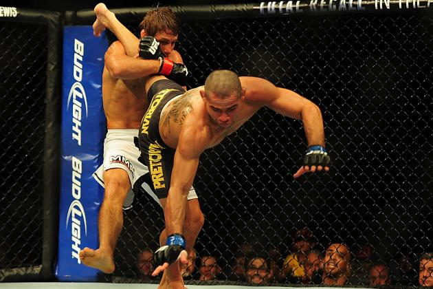 Faber vs Barao Results: Breaking Down the FightMetric Numbers