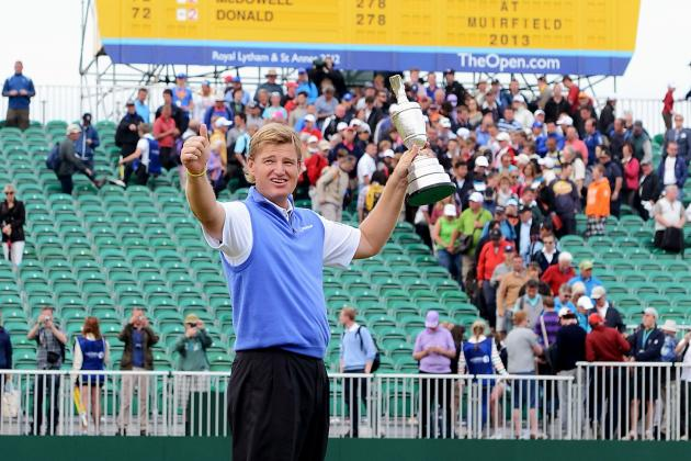 British Open Winner 2012: Ernie Els' Win Another Impressive Outing in Great Year