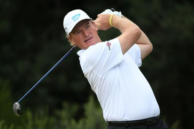 British Open 2012 Leaderboard: Recapping Ernie Els and Contenders' Finishes