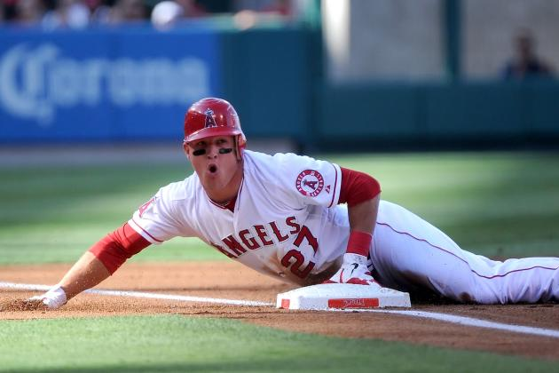 Angels' Mike Trout: The Phenom Who May Be the MLB's Best