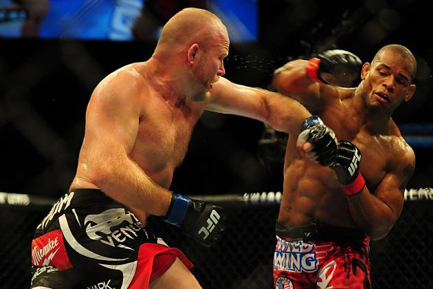 UFC 149 Results: Dana White Says Hector Lombard Should Fight at 170