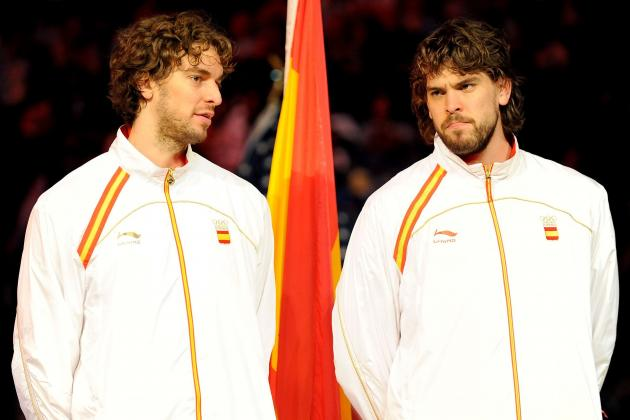 Olympic Basketball 2012: How Can USA Deal with Spain's Gasol Brothers?