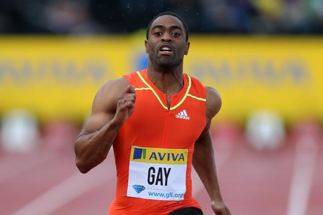 Olympic Track and Field: Too Many Sprinters Stand in Way of Gold for Tyson Gay