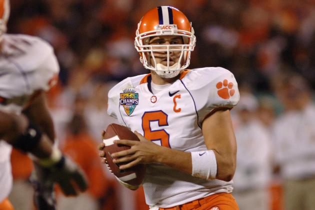 Clemson Has No Quarterback Success Stories in the NFL