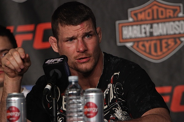 Michael Bisping Says Fight With Brian Stann Is Real Main Event for UFC 152