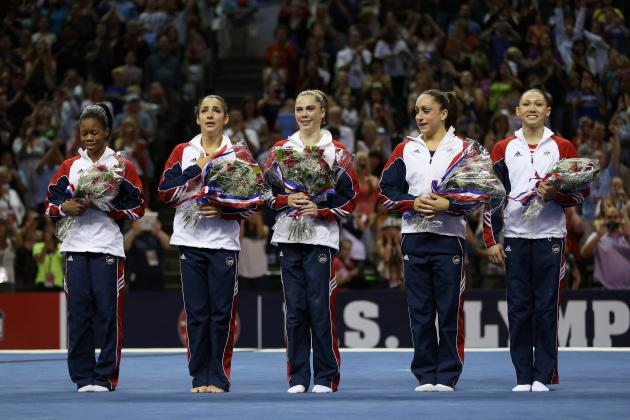2012 Women's Gymnastic Olympic Team: How US Squad Compares to 2008 Beijing Team