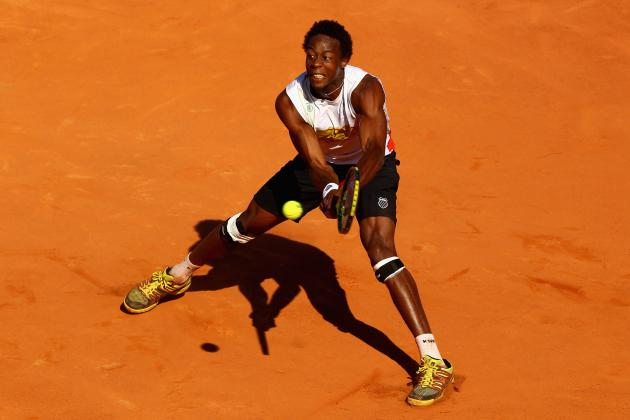 France's Monfils (knee) Withdraws from Games