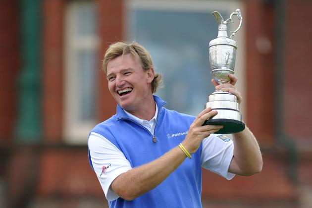 Ernie Els: Where 2012 British Open Victory Ranks Among Golfer's Other Major Wins