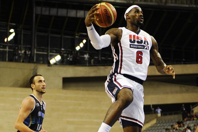 Olympics 2012 TV Schedule: When to Watch Every Men's USA Basketball Game
