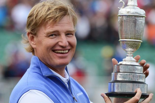 British Open 2012: Ernie Els and Stars Ready for PGA Championship