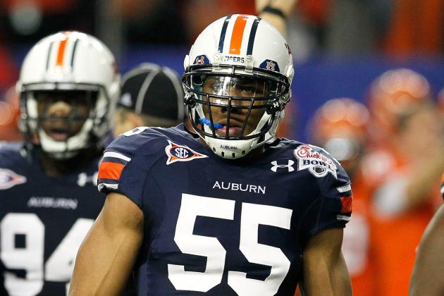 Auburn Football: Corey Lemonier Looks to Improve Run Defense