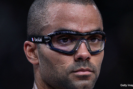Tony Parker's Goggles Are a Little Bit Hipster and a Little Bit Chris Sabo