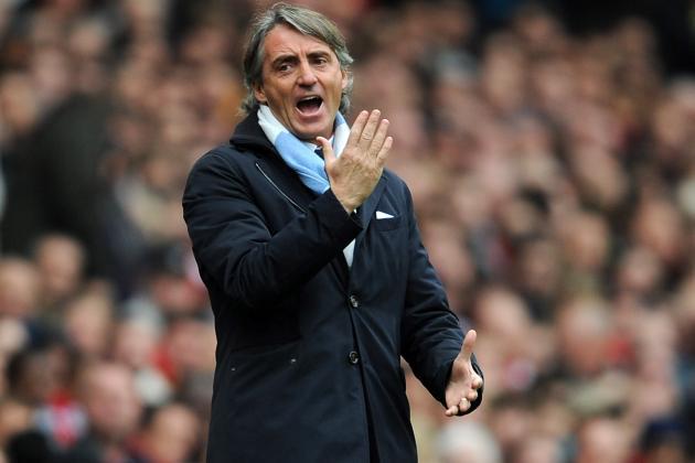 Roberto Mancini Furious over Manchester City's Faltering Van Persie Bid
