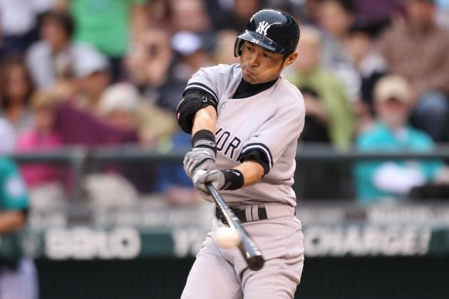 Yankees vs. Mariners: Ichiro Suzuki 1-for-4 in Bombers Debut, Yankees Win 4-1