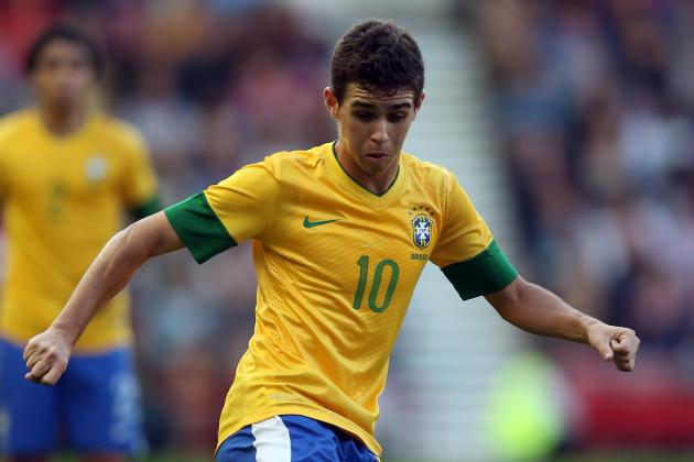 Chelsea Transfers: Why Oscar Is a Better Buy Than Hulk for the Blues