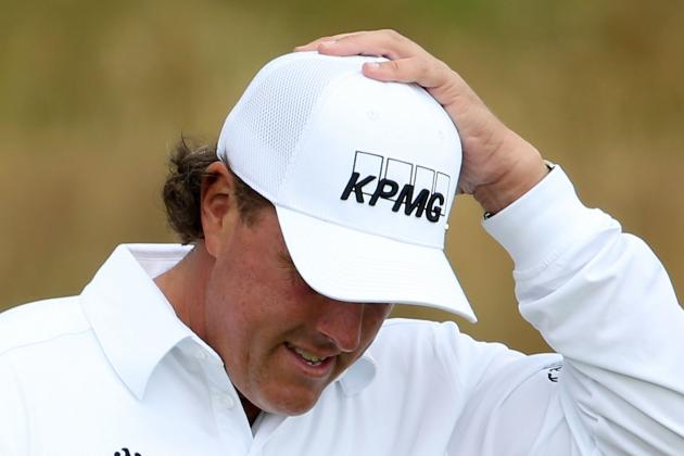 British Open 2012: Another Bad Week for Phil Mickelson
