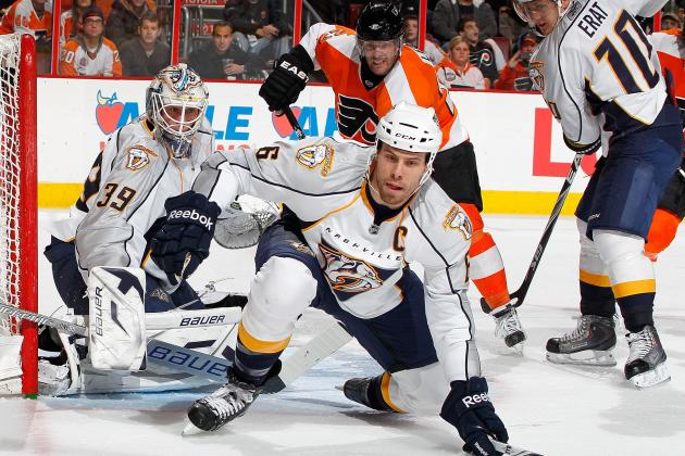 Shea Weber Stays with Predators: The Flyers Are in Trouble Entering 2012-13