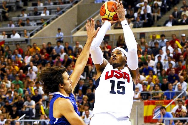 USA vs. Spain: Live Score, Stats and Analysis