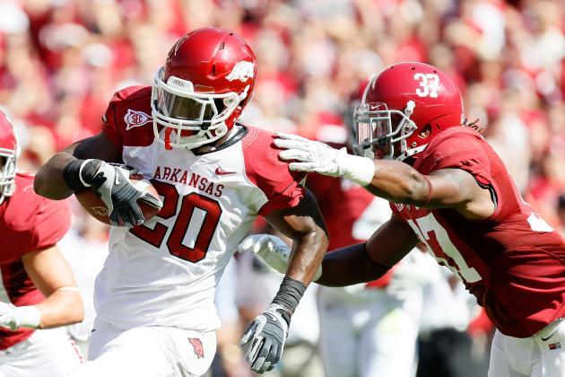 Arkansas vs. Alabama: Razorbacks Eyeing Matchup with Crimson Tide
