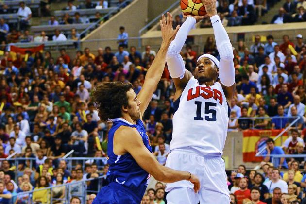 USA vs. Spain: Highlights, Twitter Reaction and Analysis for Olympics Exhibition