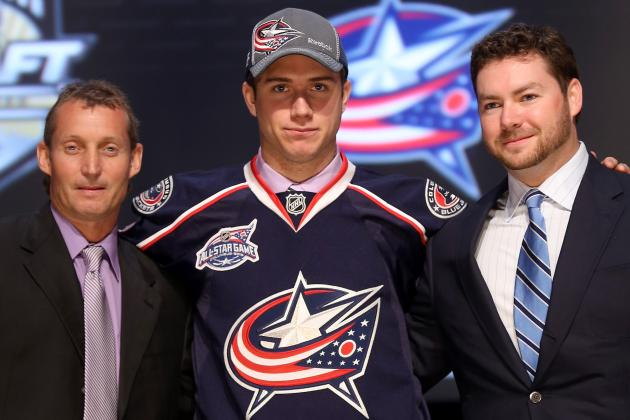 Columbus Blue Jackets Sign Top Draft Pick Murray to Three-Year Deal