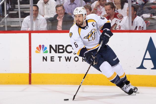 Shea Weber Stays with Predators: Will the Flyers Make the Playoffs in 2013?
