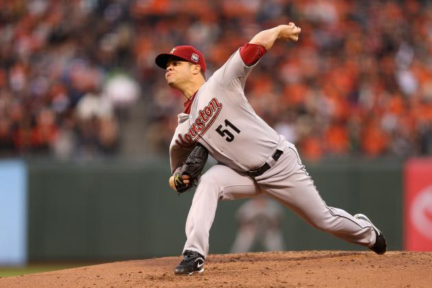 Pittsburgh Pirates Reportedly Acquire Houston Astros Pitcher Wandy Rodriguez