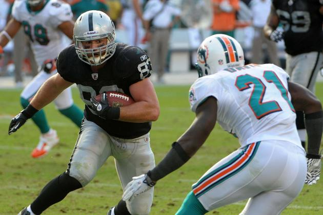 Breaking Down the Oakland Raiders Tight End Roster Battle