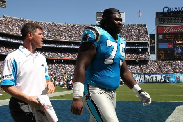 2012 Carolina Panthers: The Panthers Were Right to Trade Jeff Otah