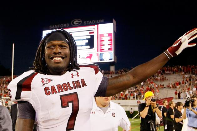South Carolina Football: Predicitng JaDeveon Clowney's 2012 Stats