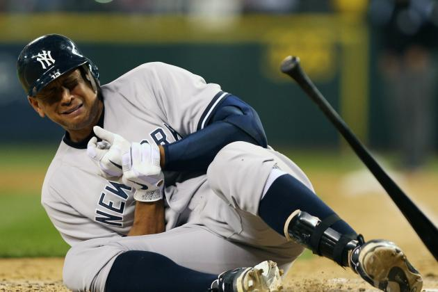 Alex Rodriguez Reportedly Will Miss Up to 8 Weeks with Hand Injury