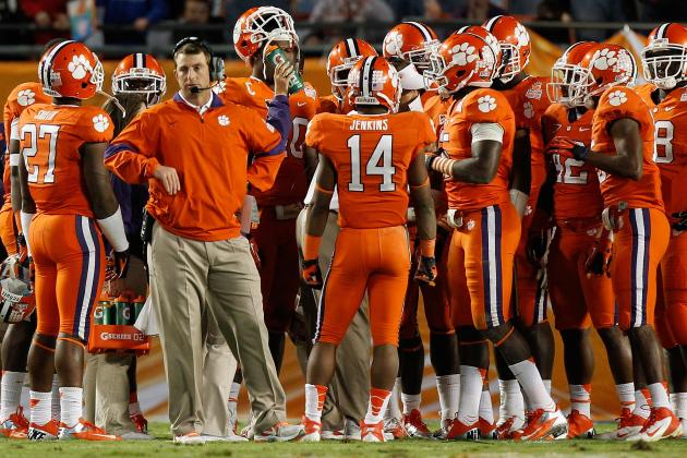 Clemson Football Recruiting: Dabo Swinney's Building a Class to Fix His Defense