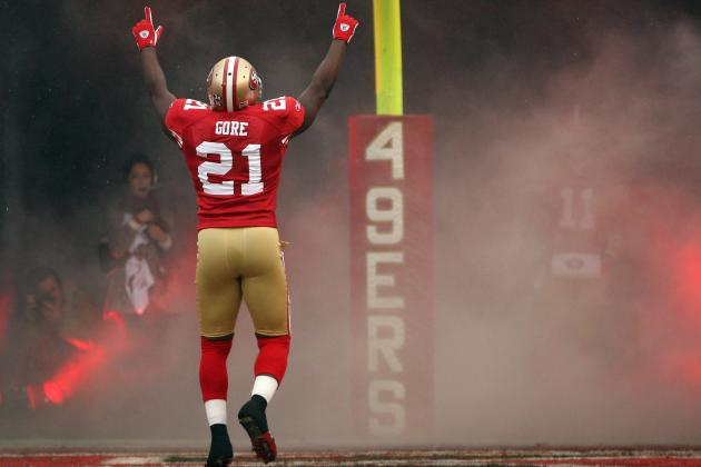 Frank Gore's San Francisco 49ers Journey by the Numbers
