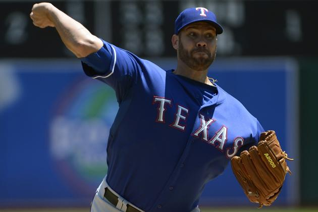 Colby Lewis out for Season; Roy Oswalt'S Back Hurting