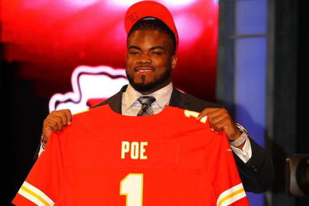 Dontari Poe: Kansas City Chiefs Sign Top Rookie to Contract