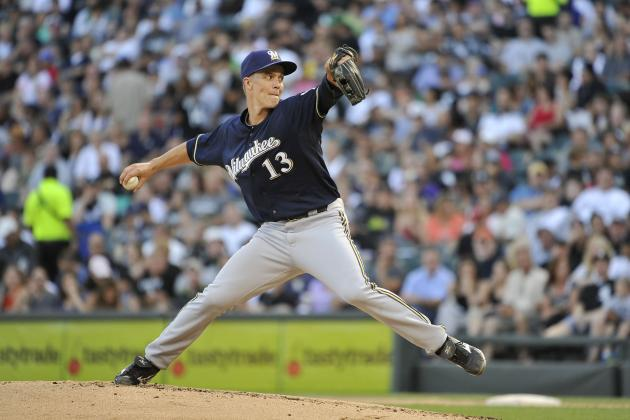 MLB Trade Deadline 2012: Zack Greinke  Is Now the Biggest Prize on the Block