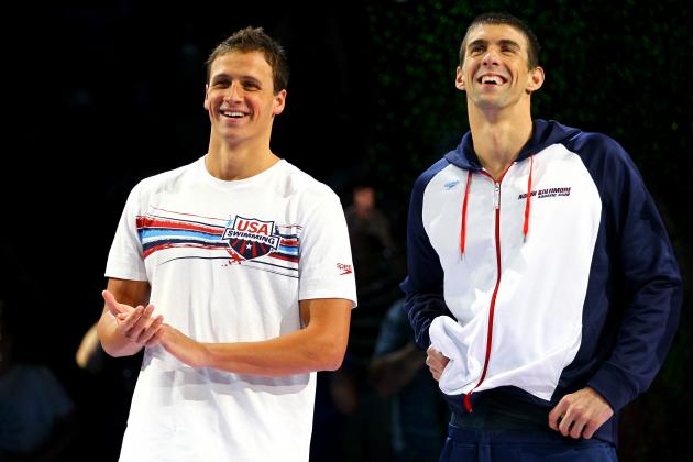 Michael Phelps: Rivalry with Ryan Lochte Is Beneficial to Team USA