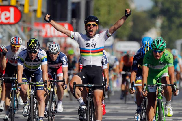 London 2012: Cycling Road Race Favourite Cavendish in Form After Historic Tour