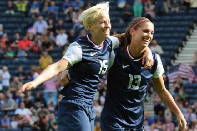 Morgan and Rapinoe Star as USA Blitz France After Early Wobble at Olympics