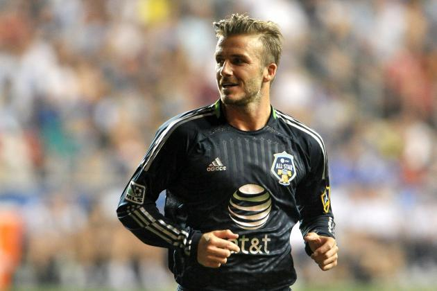 David Beckham Showed Why He Is Ageless, Tireless and a Star Among MLS All-Stars