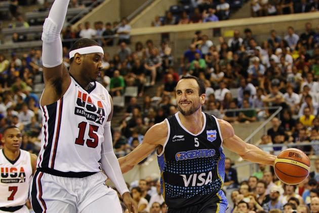 Argentina Olympic Basketball Team 2012: Roster, Complete Schedule & More