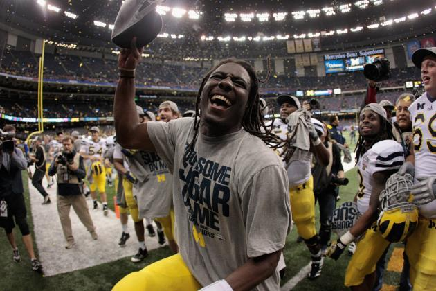Big Ten Media Days 2012: Michigan QB Denard Robinson Becoming Vocal Leader