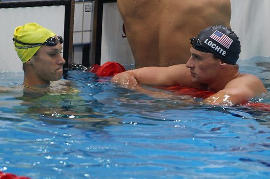 Ryan Lochte's Girlfriend: Is Olympic Star Dating Australian Blair Evans?